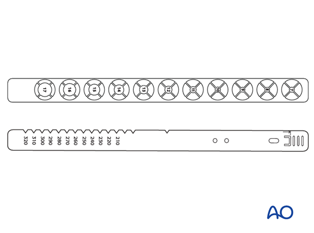 Radiographic rulers