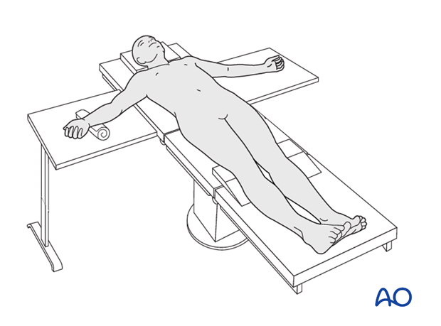 Supine position