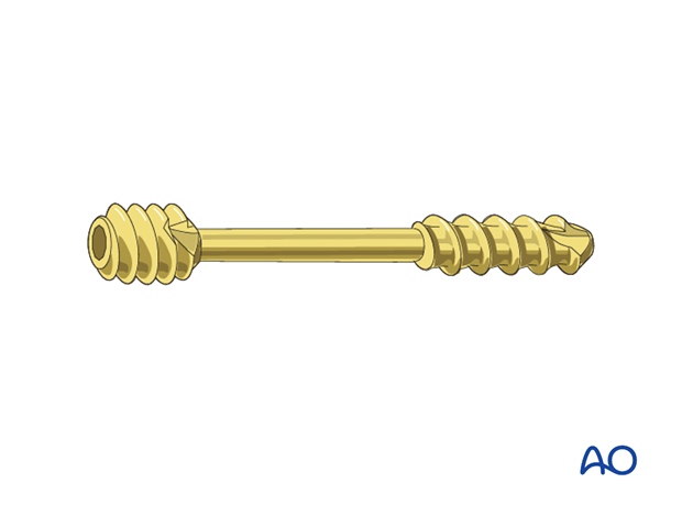 Radial head lag screw – Headless compression screw