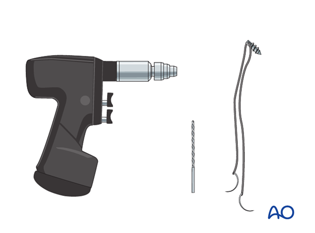 Repair lateral collateral ligament - Instruments