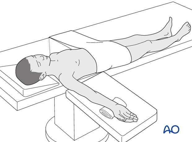 supine positioning