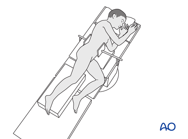 Lateral patient position